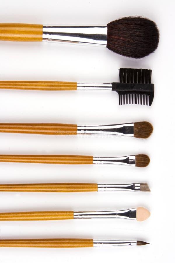掠过化妆用品 免版税图库摄影