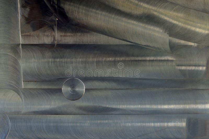 掠过的金属纹理摘要背景 库存图片