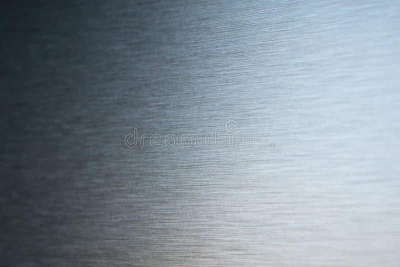 掠过的金属纹理 免版税库存照片