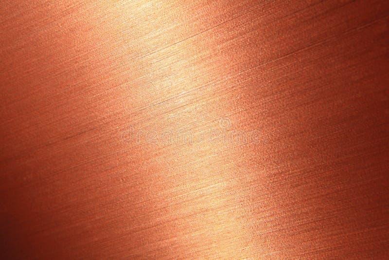 掠过的铜细致的纹理