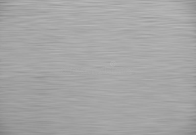 掠过的银色金属背景纹理  向量例证