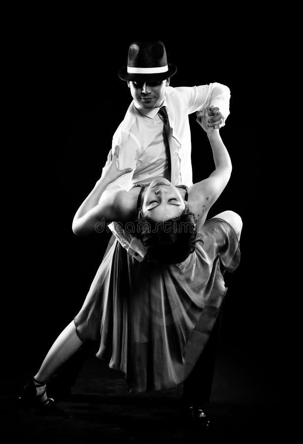 探戈舞蹈 库存图片