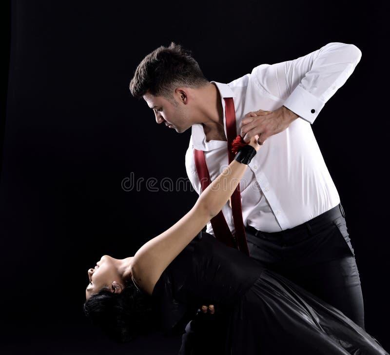 探戈舞蹈 库存照片