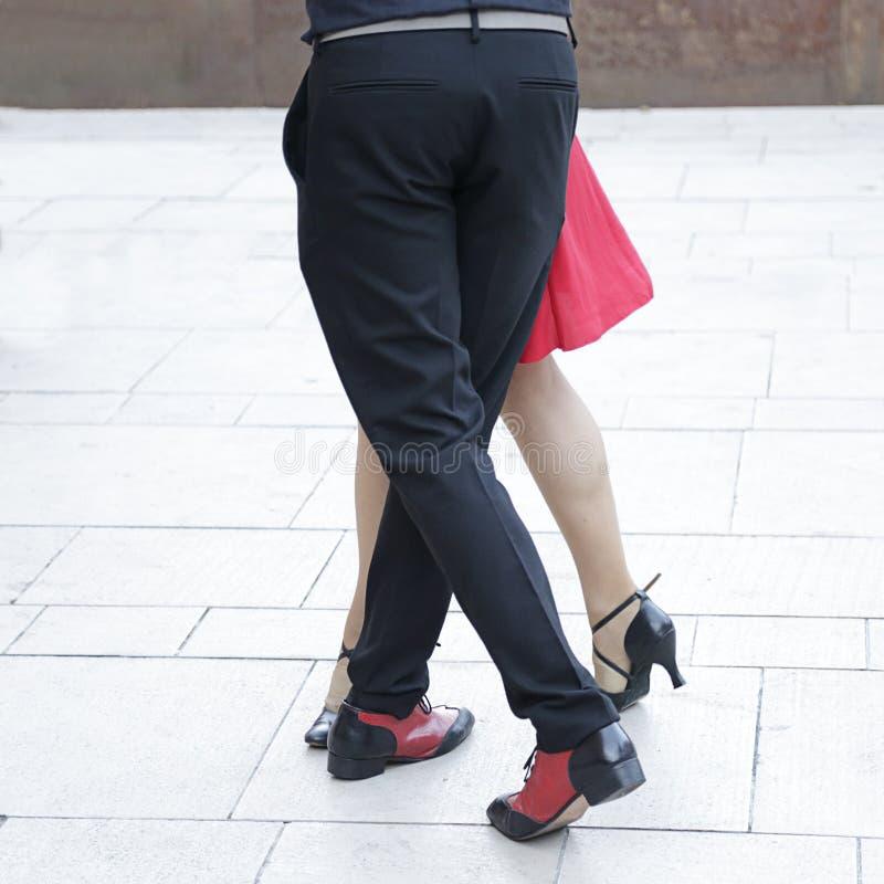 探戈舞蹈 免版税库存照片