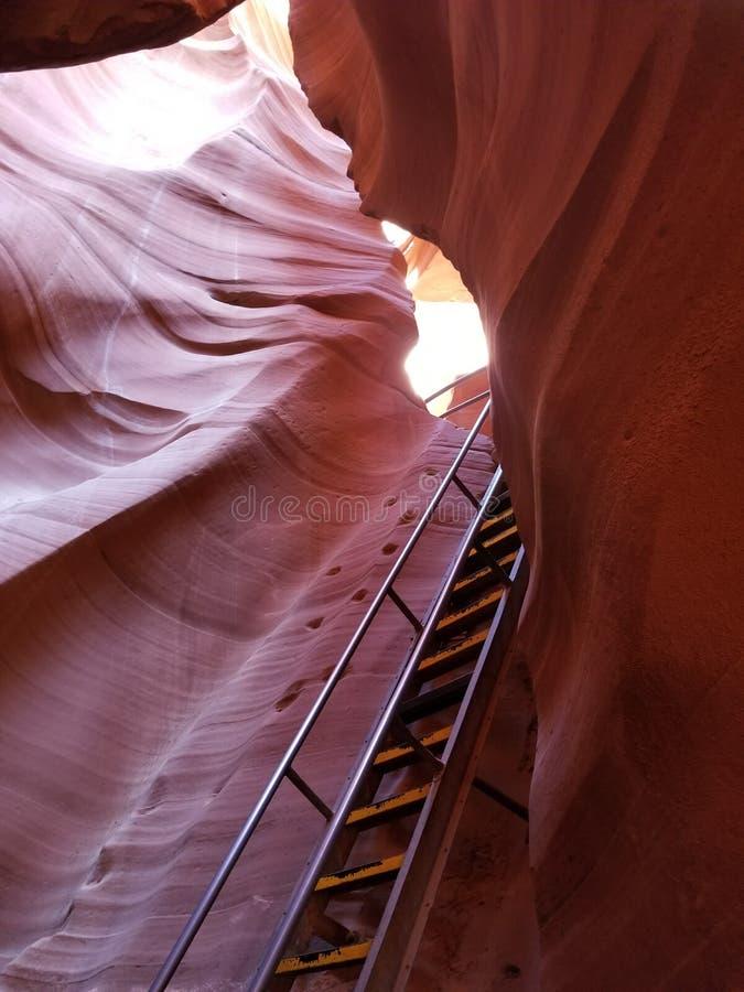 探索的羚羊峡谷亚利桑那美国 库存图片