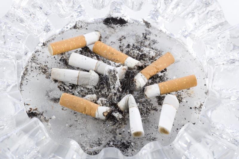 接界香烟 免版税图库摄影