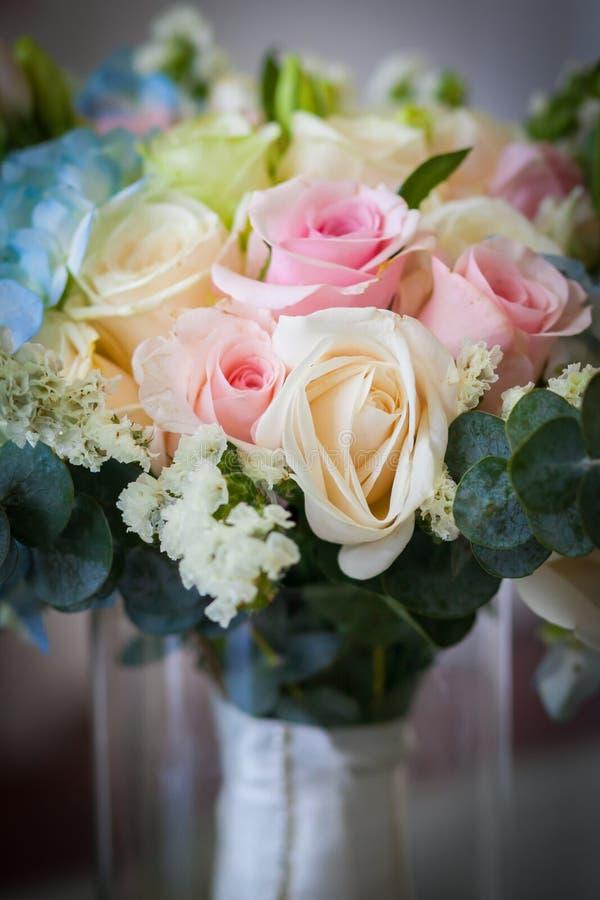 接近婚姻的花束 库存图片