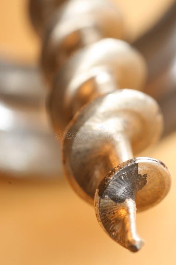接近的拔塞螺旋 免版税图库摄影