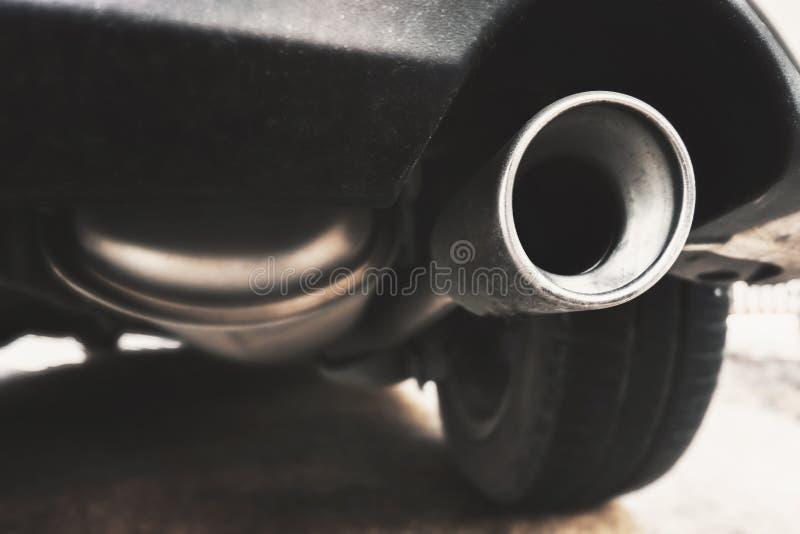 接近的排气管 免版税图库摄影