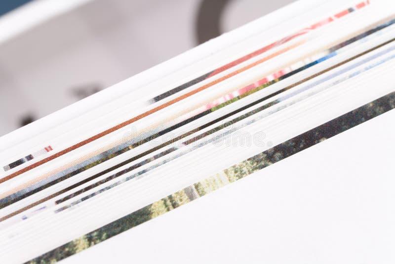 接近的杂志 免版税图库摄影