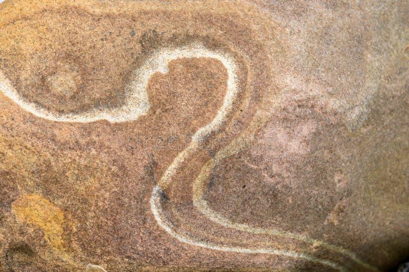 接近的砂岩 库存照片