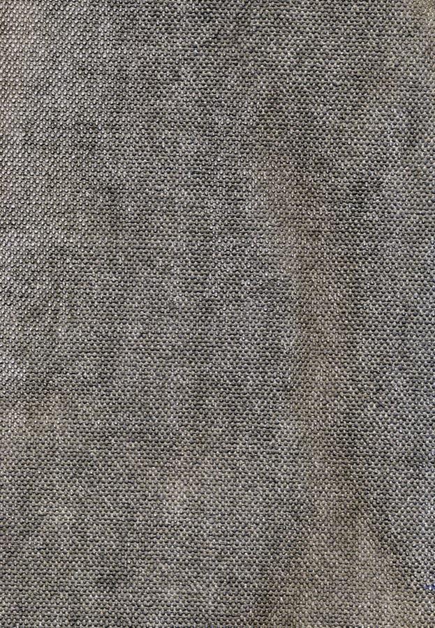 接近的织品自然纺织品纹理 免版税图库摄影
