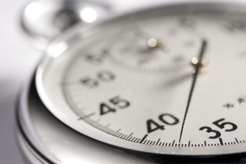 接近的终止手表 库存图片