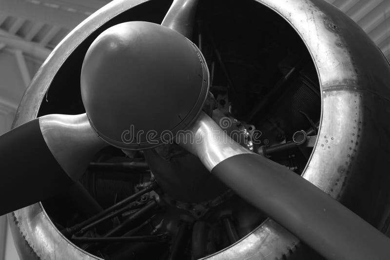 接近的老推进器 库存图片