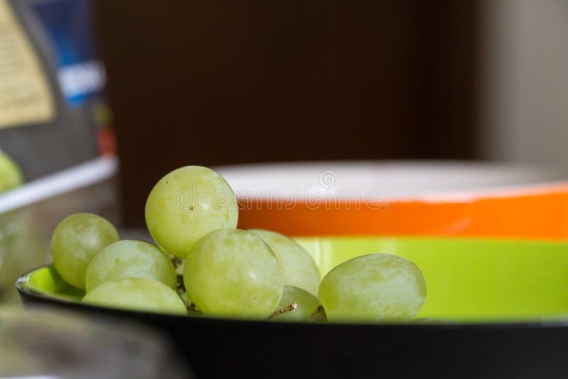接近的葡萄 库存照片