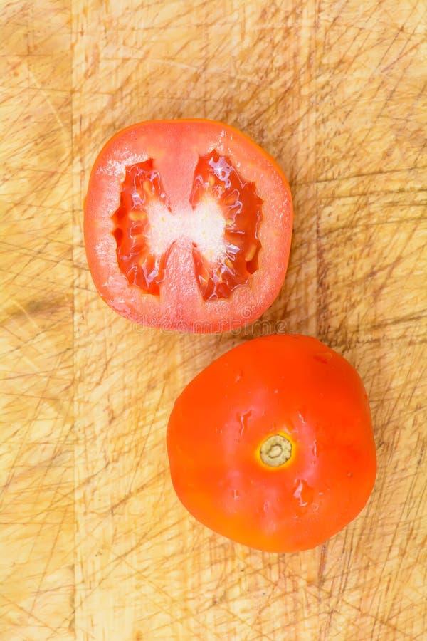 接近的蕃茄 库存图片