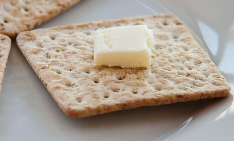 接近的薄脆饼干 库存图片