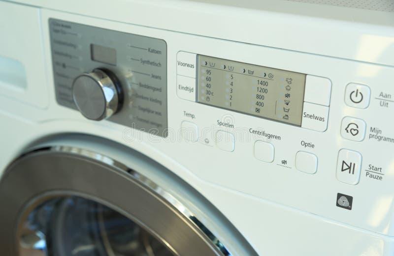 接近的设备射击了洗涤 免版税库存图片