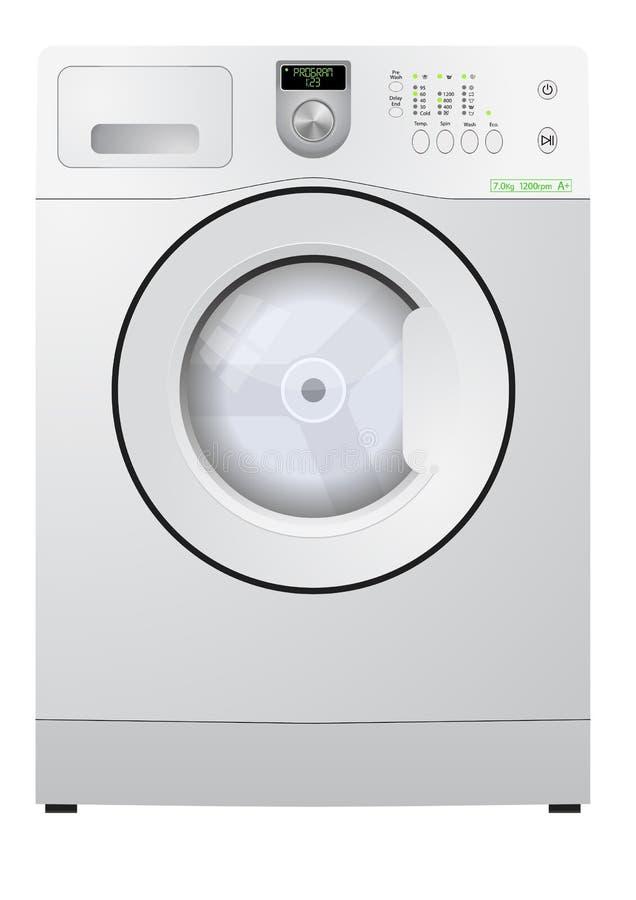 接近的设备射击了洗涤 库存例证