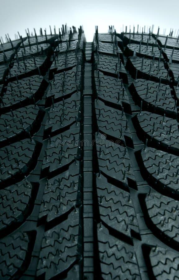接近的轮胎 免版税库存图片