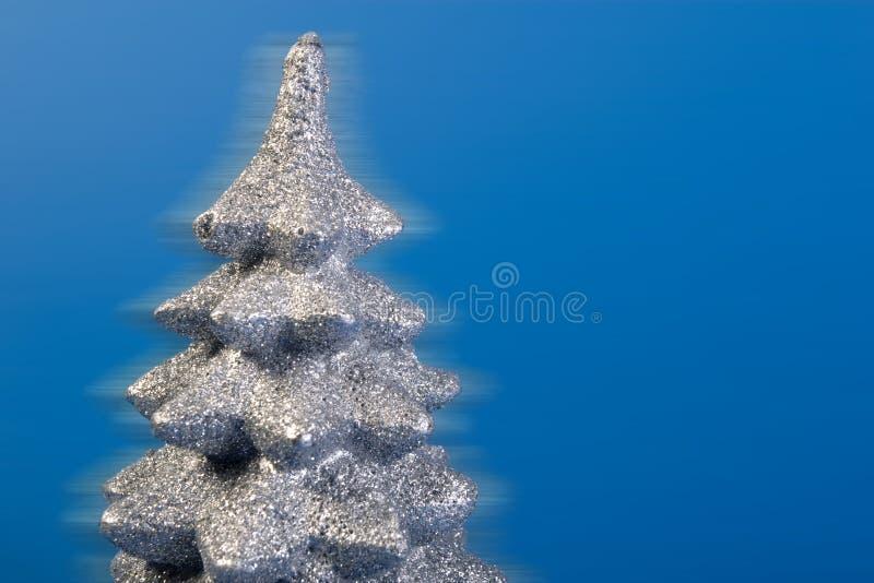 接近的银色顶部结构树 免版税库存照片