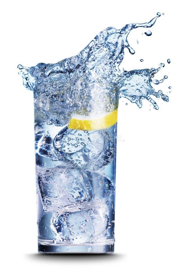 接近的饮料结冰 库存照片