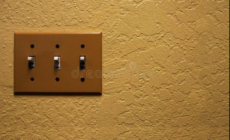 接通墙壁 库存照片
