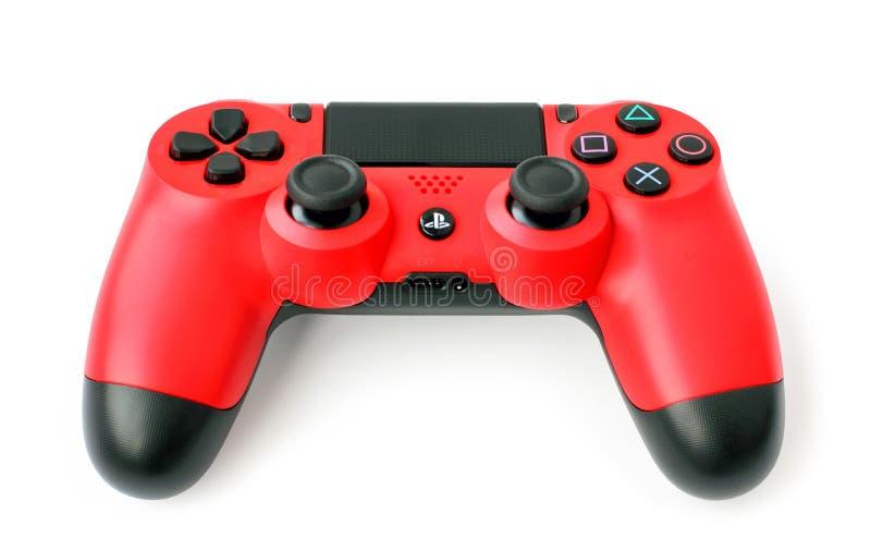控制台的索尼PlayStation 4比赛垫 免版税库存照片