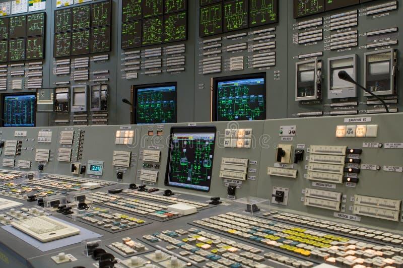 控制室 免版税图库摄影