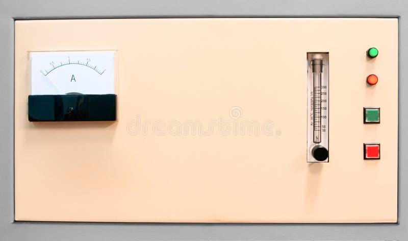 控制数据设备数字输入设备管理面板工具 免版税库存照片