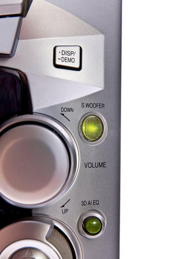 控制旋钮 库存照片