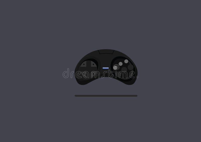 控制杆比赛平的设计传染媒介 库存照片