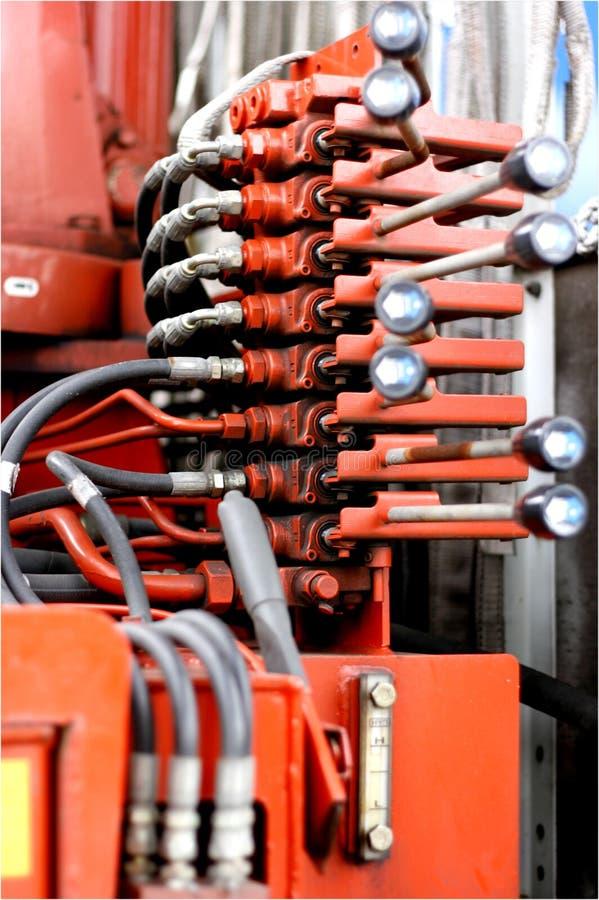 控制水力 库存图片