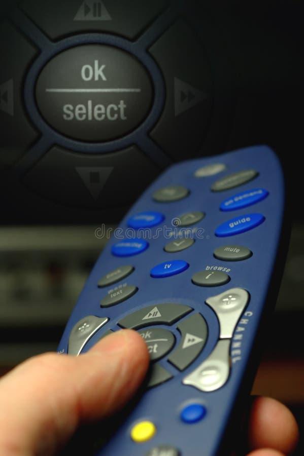 控制遥控 图库摄影