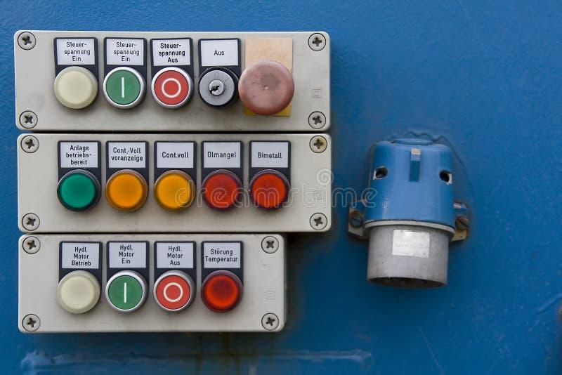 控制面板 免版税图库摄影
