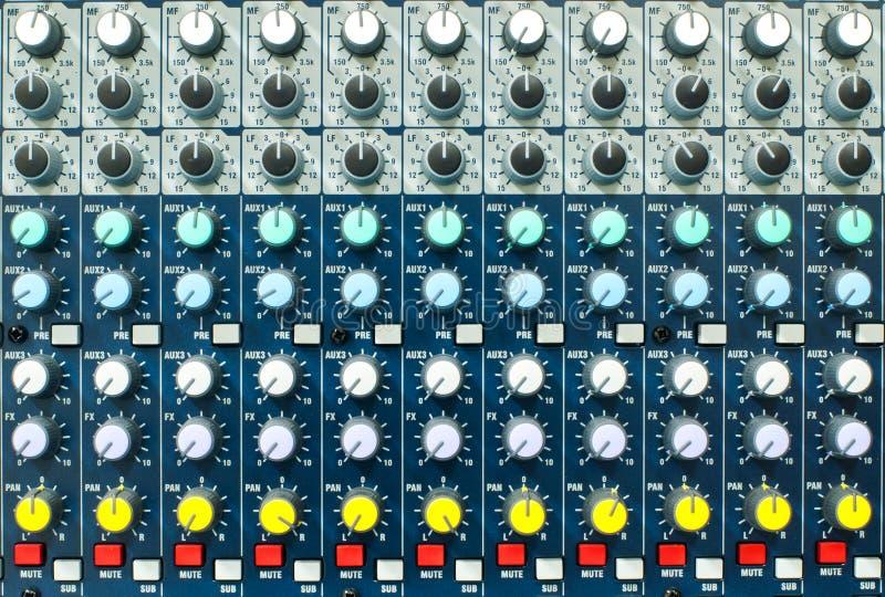 控制音乐面板 向量例证