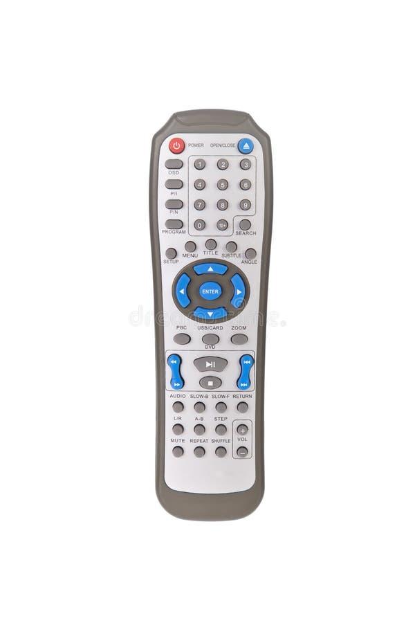 控制dvd遥控 免版税库存图片