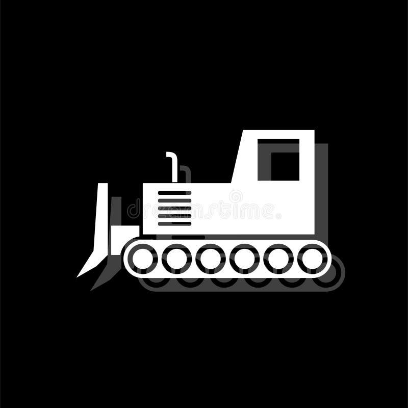 推土机象舱内甲板 库存例证