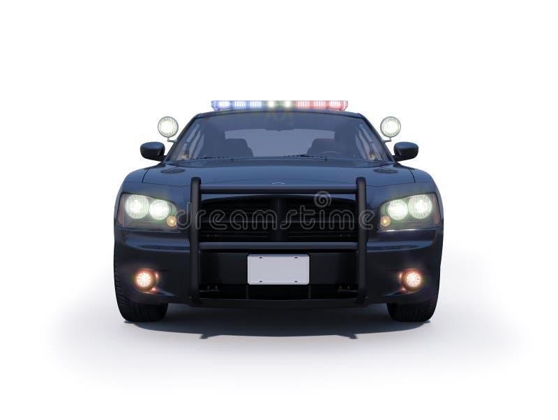 推托充电器警车 向量例证