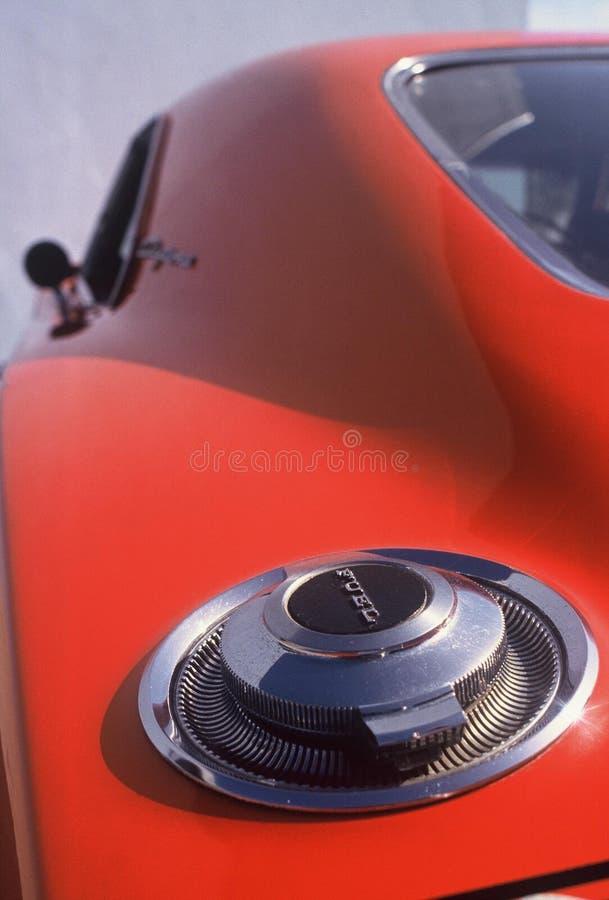 推托充电器Daytona Hemi 426燃料盖帽 免版税库存照片