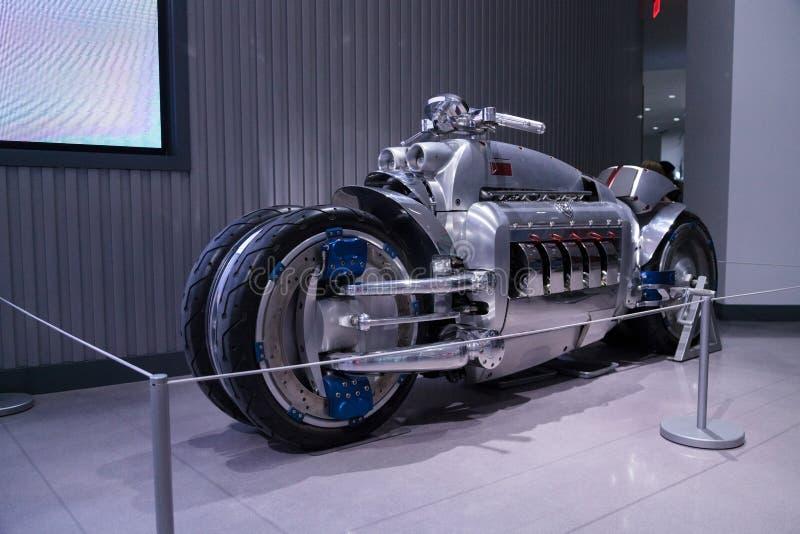 2003推托印第安战斧摩托车 免版税图库摄影