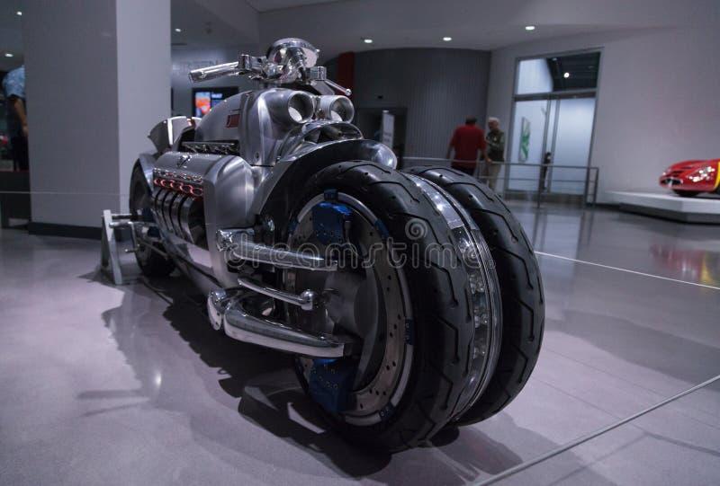 2003推托印第安战斧摩托车 库存照片