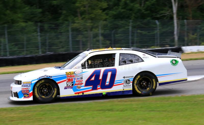 推托挑战者NASCAR赛跑 库存照片