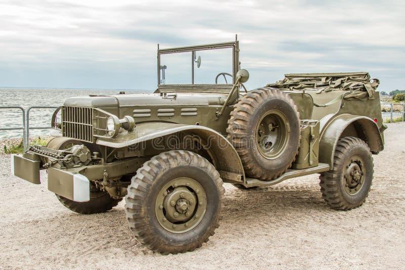 推托-美国军车 免版税库存照片