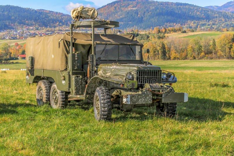 推托-美国军车 库存照片
