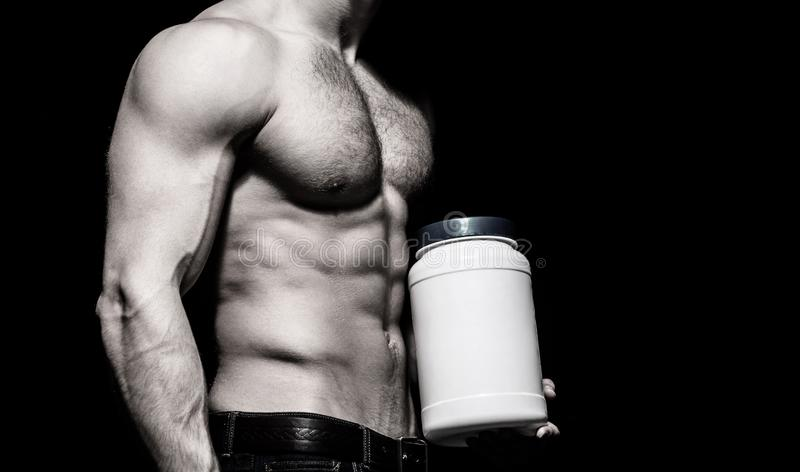 掺杂,促合成,蛋白质、类固醇、体育维生素、爱好健美者和体型 干涉强,肌肉 ?? 免版税库存图片