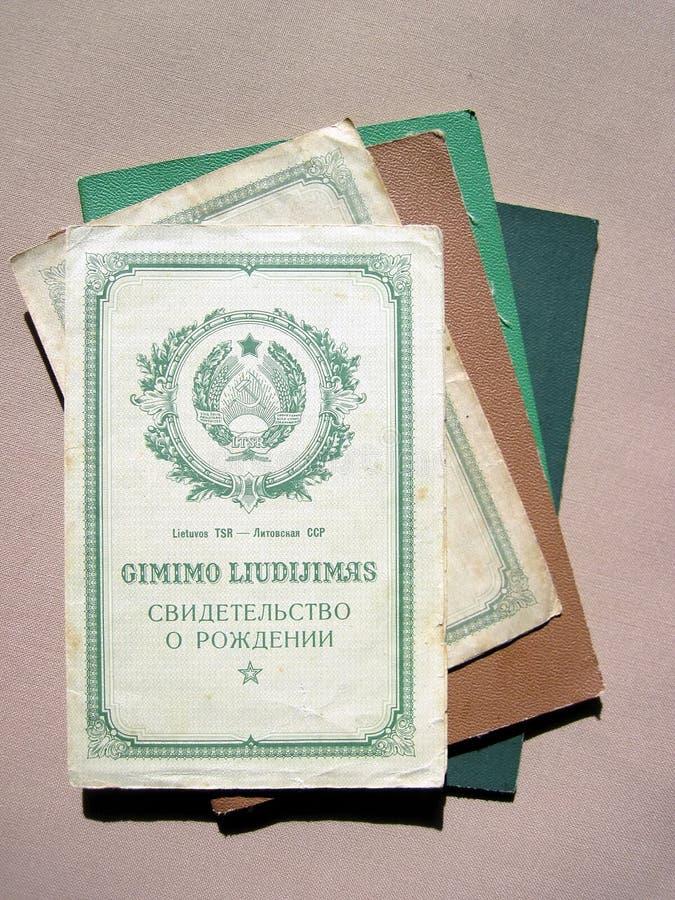 提供老苏维埃 免版税库存图片