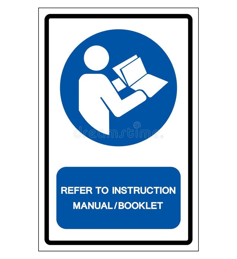 提到说明书小册子标志标志,传染媒介例证,隔绝在白色背景标签 EPS10 库存例证