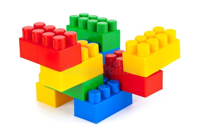 提取建筑玩具 库存照片