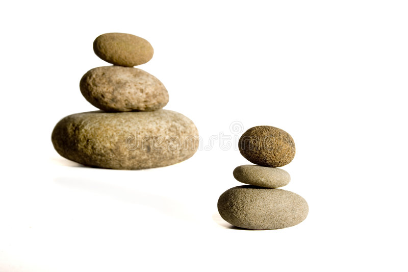 提取查出的石头 免版税库存照片